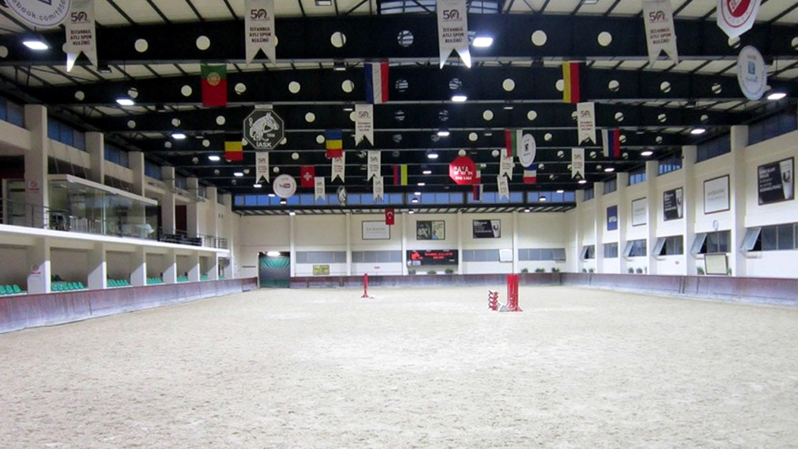 IASK INDOOR ARENA – LSI WHITE LIGHT
