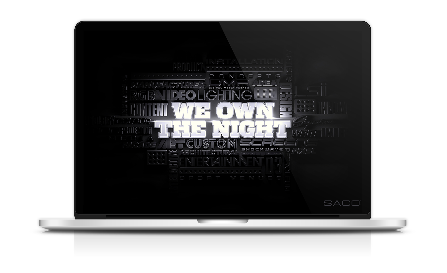 We Own The Night Laptop