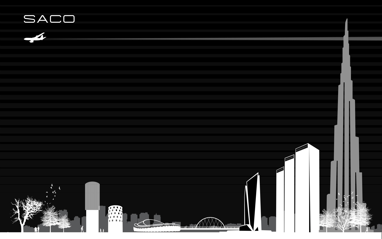 SACO Skyline Wallpaper