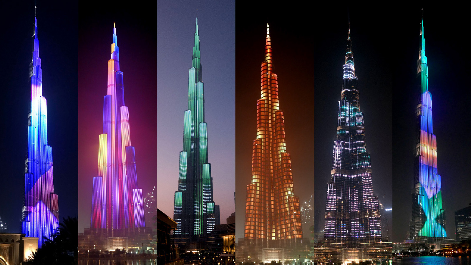 BURJ KHALIFA – TALLEST SCREEN ON THE PLANET