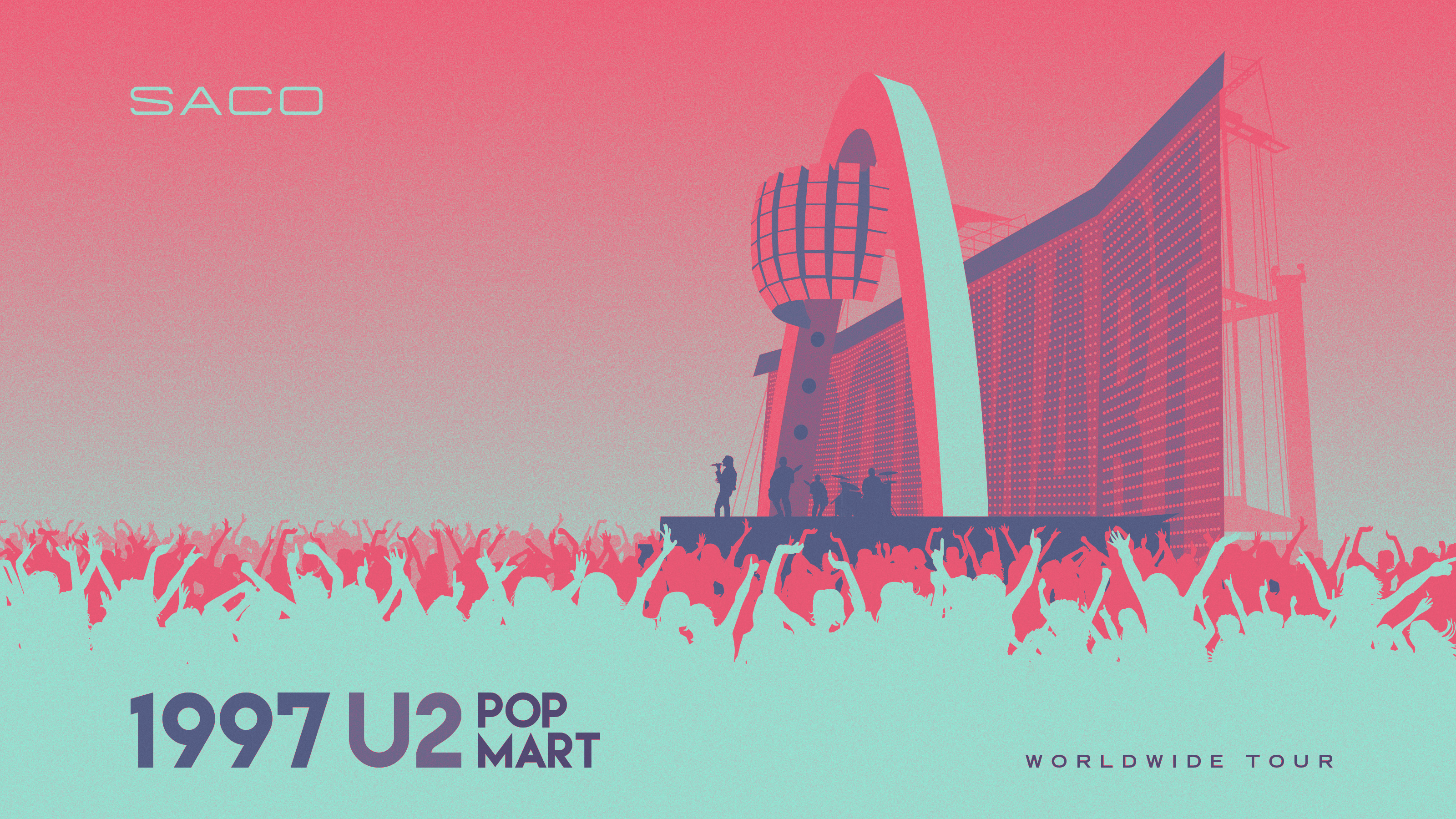 SACO U2 POP MART TOUR WALLPAPER